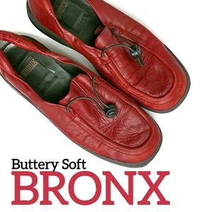 Bronx Leather Loafers Size 38 By DijkManis